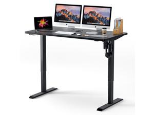 TACKLIFE HOD1A Electric Standing Desk, 52 x 28 Inches Whole Piece Desktop, Quick Assembly, Ultra-Quiet Adjustment, Stand Up Desk
