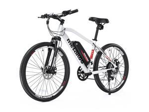 """METAKOO Cybertrack 300 27.5"""" Electric Mountain Bike, 500W/750W Peak Brushless Hub Motor, 40Miles Average Range, 20MPH Top Speed, Mountain Ebike with Front Suspension and 21 Speed Gears"""