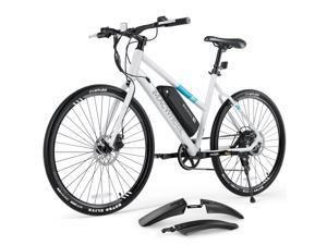 """MACWHEEL 27.5"""" Electric Bike, 3 Hours Fast Charge, UL Certified Charger, 350W Brushless Hub Motor, 20mph Top 