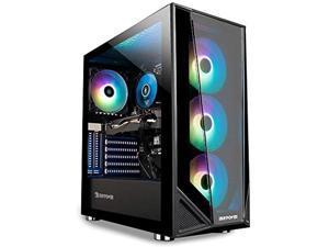 iBUYPOWER Pro Gaming PC Computer Desktop Trace 4 MR 9340 (AMD Ryzen 5 3600 3.6GHz, AMD Radeon RX 5500 XT 4GB, 8GB DDR4 RAM, 240GB SSD, WiFi Ready, Windows 10 Home),with AHAGHUG hdmi cable