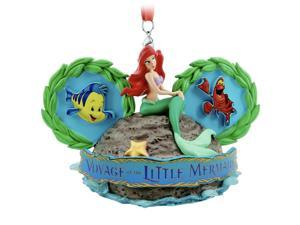 Disney Parks Voyage of the Little Mermaid Ear Hat Christmas Ornament New w Tag