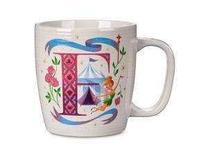 Disney Parks ABC Letters F is for Fantasyland Ceramic Coffee Mug New