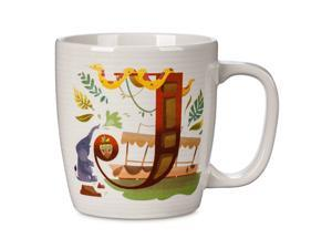 Disney Parks ABC Letters J is for The Jungle Cruise Ceramic Coffee Mug New