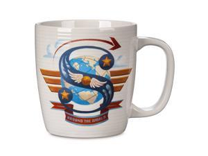 Disney Parks ABC Letters S is for Soarin Around the World Ceramic Coffee Mug New