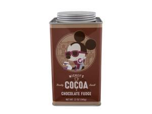 Disney Parks Cocoa Mickey's Really Swell Chocolate Fudge Tin New