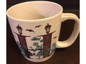 Disney Parks ABC Letters H is for The Haunted Mansion Ceramic Coffee Mug New