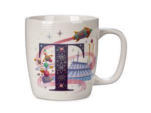 Disney Parks ABC Letters T is for Tomorrowland Ceramic Coffee Mug New