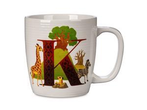 Disney Parks ABC Letters K is for Kilimanjaro Safaris Ceramic Coffee Mug New