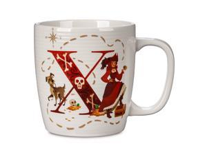 Disney Parks ABC Letters X is for X Marks the Spot Pirates Coffee Mug New