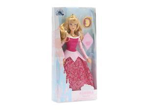 Disney Sleeping Beauty Classic Doll with Pendant Aurora New with Box