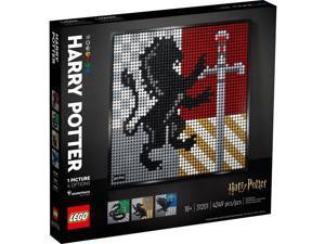 Lego 31201 Art Harry Potter Hogwarts Crests Building Kit New with Sealed Box