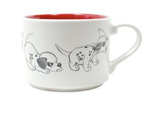 Disney Dalmatian Patch Animation Sketch Ceramic Coffee Mug New
