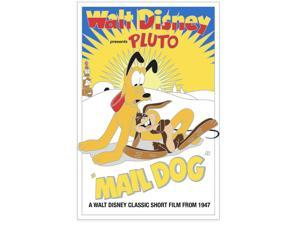 Disney Parks Pluto 90th Pin Mail Dog Show Limited Edition New with Card