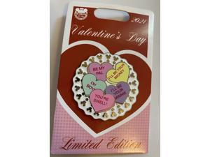 Disney Parks 2021 Valentine's Day I'll Be Your Limited Pin New with Card