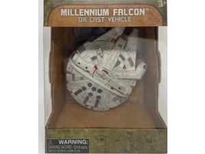 Disney Parks Star Wars Galaxy Millennium Falcon Die Cast Vehicle New with Box