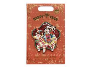 Disney Parks Mickey and Friends Lunar New Year 2021 Pin Limited New with Card