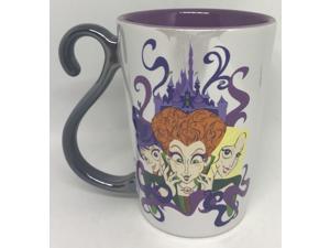 Disney Parks Hocus Pocus Sanderson Sisters Binx Cat Halloween Coffee Mug New