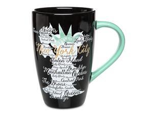 Disney Store New York City Minnie Statue of Liberty Coffee Mug New