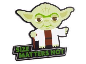 Hallmark Star Wars Yoda Wall Decor Size Matters Not New