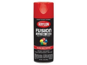 Krylon  Fusion All-In-One  Gloss  Red Pepper  Paint + Primer Spray Paint  12 oz. - Case Of: 6;