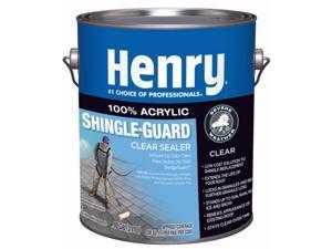 Henry  612 Shingle-Guard  Clear  Acrylic  Shingle Sealer  1 gal. - Case Of: 4;