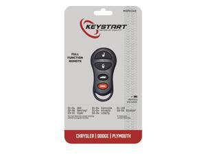 KeyStart Self Programmable Remote Automotive Replacement Key MOP014 Double sided For Mopar - Case Of: 1;
