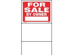 Hillman English Red For Sale Sign 18 in. H x 24 in. W - Case Of: 6;