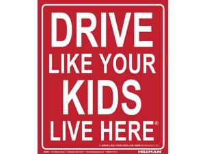 Hillman English Red Children At Play Sign 19 in. H x 24 in. W - Case Of: 6;