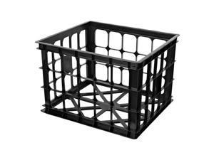 Homz 11 in. H x 15.5 in. W x 14 in. D Stackable Storage Bin - Case Of: 6;