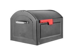 Architectural Mailboxes Centennial Galvanized Steel Post Mount Pewter Mailbox - Case Of: 1;