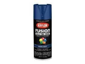 Krylon  Fusion All-In-One  Gloss  Navy  Paint + Primer Spray Paint  12 oz. - Case Of: 6;