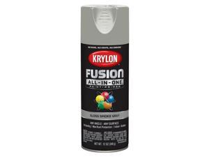 Krylon  Fusion All-In-One  Gloss  Smoke Gray  Paint + Primer Spray Paint  12 oz. - Case Of: 6;