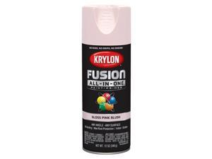 Krylon  Fusion All-In-One  Gloss  Pink Blush  Paint + Primer Spray Paint  12 oz. - Case Of: 6;