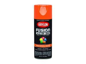 Krylon  Fusion All-In-One  Gloss  Popsicle Orange  Paint + Primer Spray Paint  12 oz. - Case Of: 6;