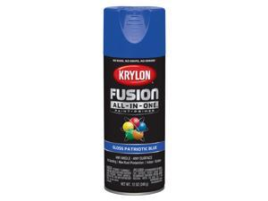 Krylon  Fusion All-In-One  Gloss  Patriotic Blue  Paint + Primer Spray Paint  12 oz. - Case Of: 6;