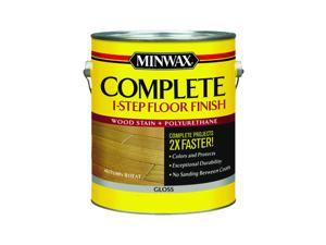 Minwax Complete Gloss Autumn Wheat Water-Based All-in-One Stain and Finish 1 gal. - Case Of: 2