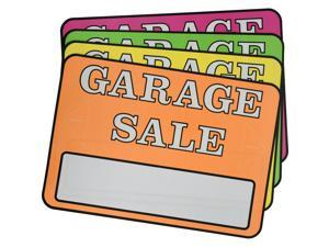 Hillman English Assorted Garage Sale Sign Kit 8 in. H x 12 in. W - Case Of: 6;