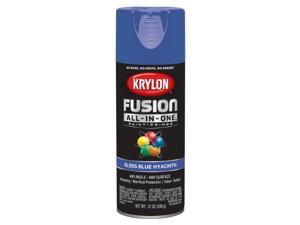 Krylon  Fusion All-In-One  Gloss  Blue Hyacinth  Paint + Primer Spray Paint  12 oz. - Case Of: 6;