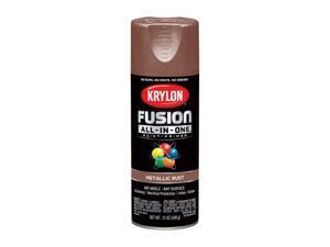 Krylon  Fusion All-In-One  Metallic  Rust  Paint + Primer Spray Paint  12 oz. - Case Of: 6;