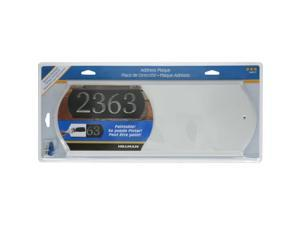 Hillman White Wood Paintable Address Plate - Case Of: 3;