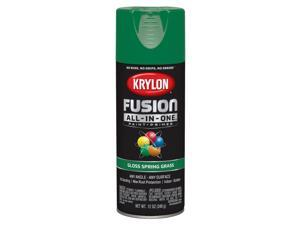 Krylon  Fusion All-In-One  Gloss  Spring Grass  Paint + Primer Spray Paint  12 oz. - Case Of: 6;