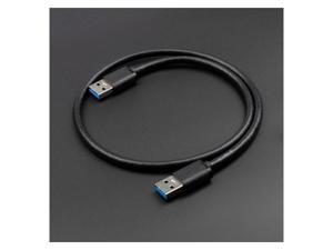 USB 3.0 Cable Super Speed USB 3.0 Male to Male USB Extension Cable Data Transfer Cables for SSD Enclosure USB3.0 Extender ( 0.5 m)