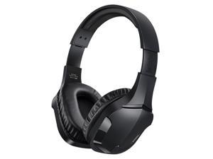 REMAX RB-750HB Wireless Noise Canceling Over-Ear Gaming Headset with 360° HiFi  Surround Sound Compatible for PC PS4 Xbox one Nintendo Switch Laptop PC Mac, Black