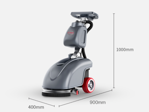 Scrubber Cleaning Equipment Battery Powered Hand push automatic Floor Washer Yangzi Household small electric floor cleaner