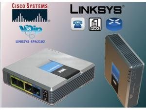 Linksys SPA2102 ATA with Router