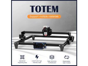 Twotrees 3D Printer Totem CNC Laser Engraving Machine 5.5W 30*40cm 2Axis DIY Engraver Desktop Wood Router/Cutter/Printer + Laser Goggles