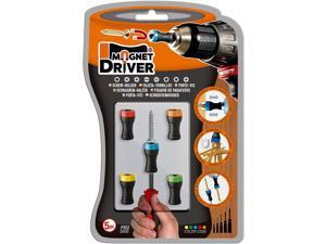 Magnet Driver B50 Screw-Holder by Micaton | Magnetic Screwdriver Attachment for Hand Tools or Power Bits