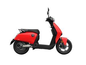 Super SOCO CU2 Electric-Powered Scooter with Kinetic motor, 48V 32A Max Range 50 miles, Max Torque 115N·m for Adults