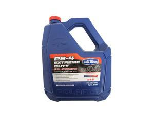 Polaris Genuine OEM 1 Gallon PS-4 Extreme Duty Full Synthetic Oil 10W-50 4-Cycle For Ranger RZR General 2878919