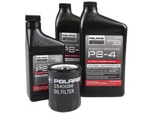 Polaris OEM PS-4 Extreme Duty Oil Change Kit For 2011-2018 General Ranger RZR RS1 XP 900 1000 4 S 2879324
